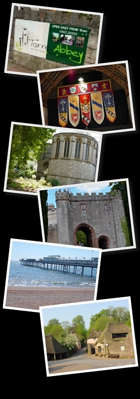 Visit Torre Abbey, Agatha Christie's Church, Cockington Village and Paignton Sands